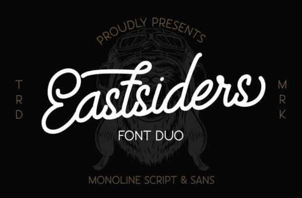 Eastsiders Monoline Font Duo