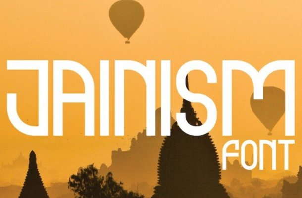 Jainism Display Font Family