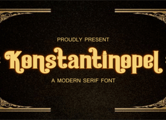 Konstantinopel Serif Font