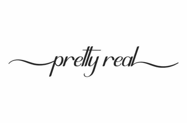 Pretty Real Calligraphy Font