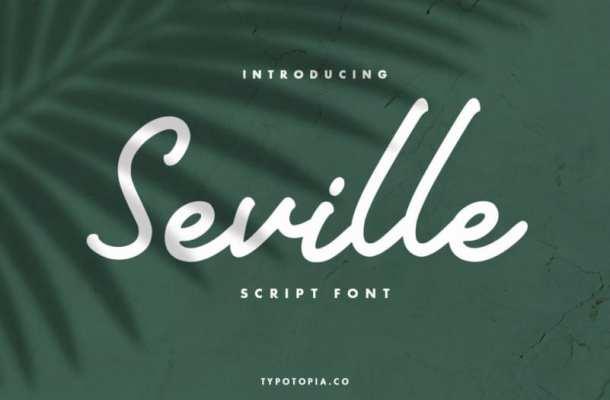 Seville Handwritten Font Free