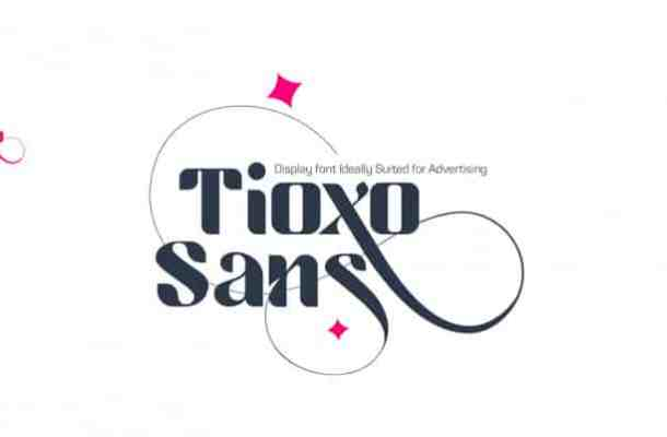 Tioxo Sans Font Free
