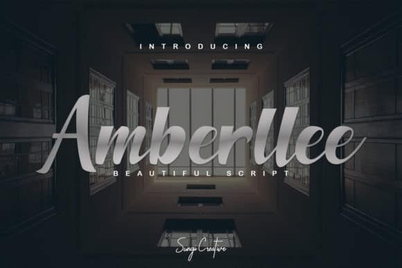 Amberllee Script Font Free