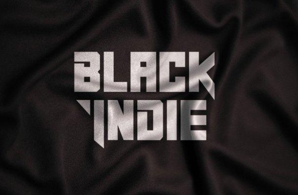 Black Indie Display Font