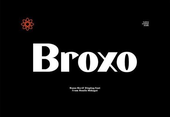 Broxo Sans Serif Font