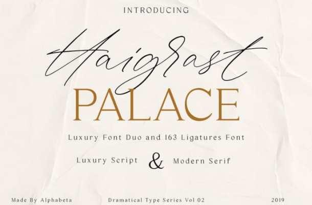 Haigrast Font Duo Free
