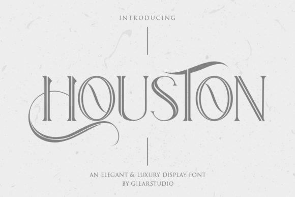 Houston Display Font Free