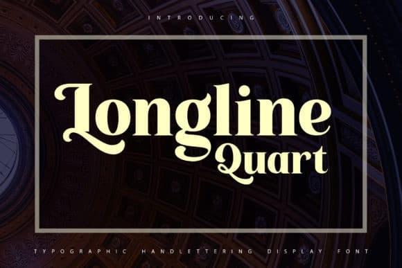 Longline Quartz Serif Font