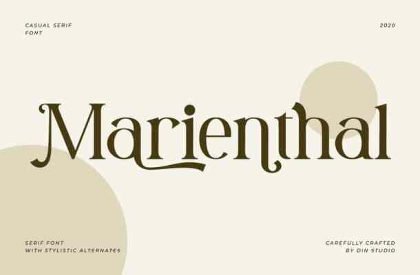 Marienthal Serif Font Free