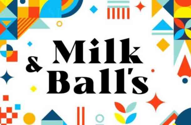 Milk and Balls Serif Font