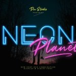 Neon Planet Display Font