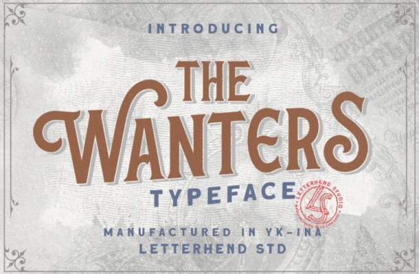 The Wanters Display Font