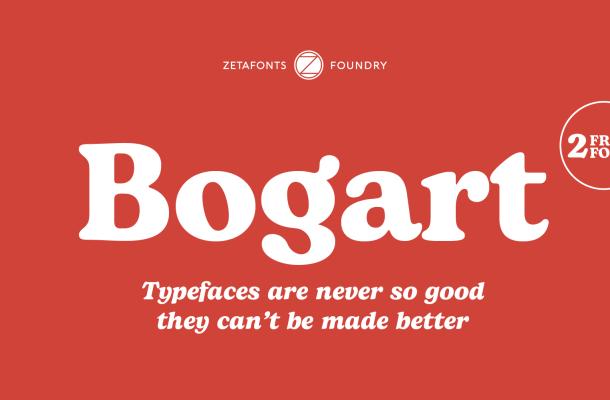 Bogart Serif Typeface Free