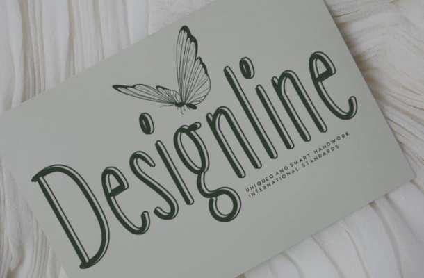 Designline Display Font