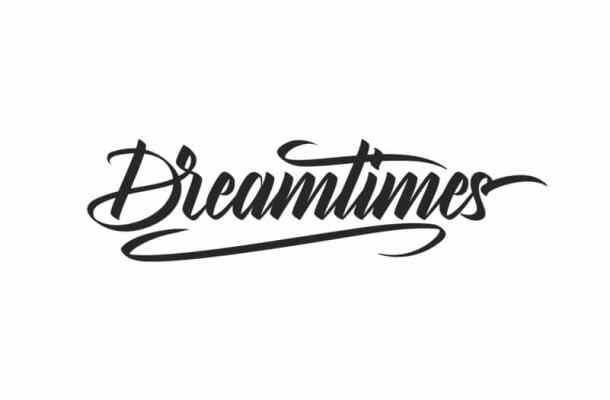 Dreamtimes Brush Hand Lettering Font