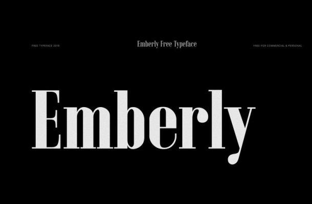 Emberly Slab Serif Font