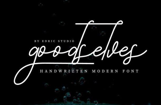 Goodselves Handwriting Font