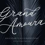 Grand Amoura Handwritten Font