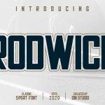 Rodwick Sport Display Font