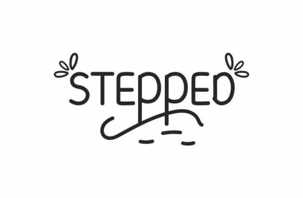 Stepped Display Font Free