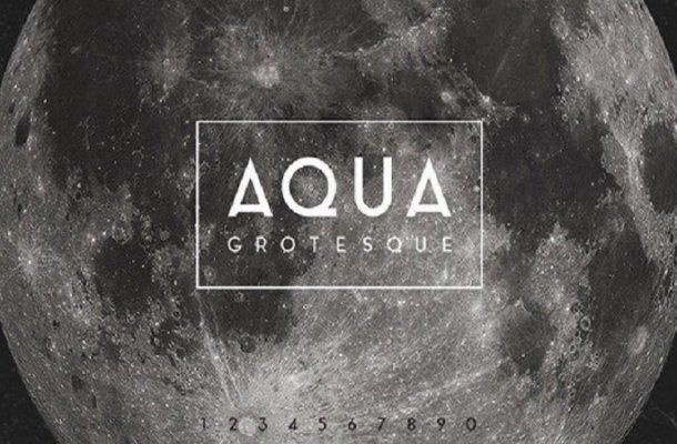 Aqua Grotesque Sans Serif Font