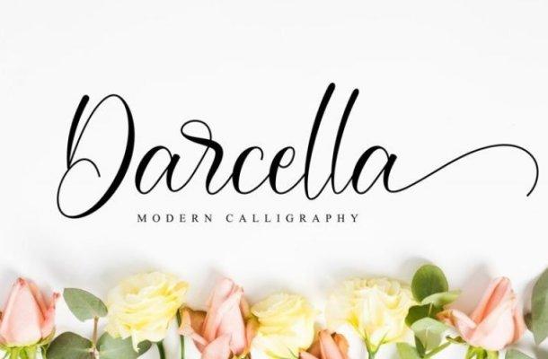 Darcella Calligraphy Font Free