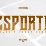 Esporte Display Font Free