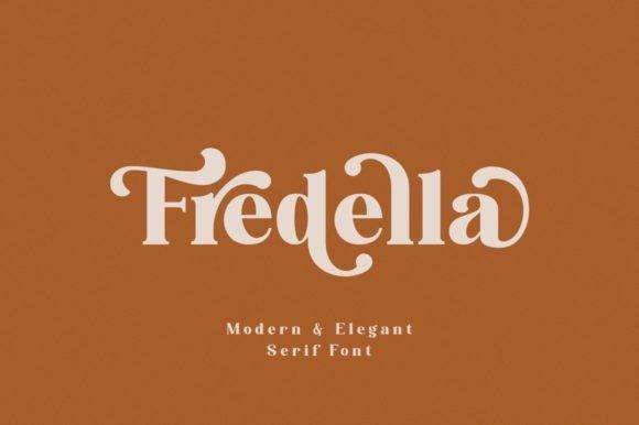 Fredella Serif Font Free