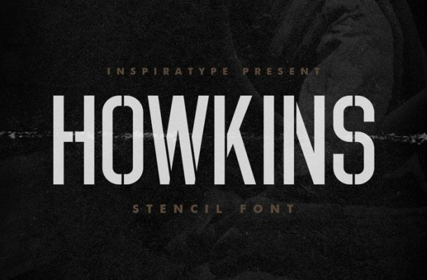 HOWKINS Display Font