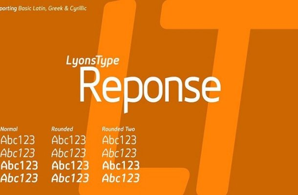 LT Reponse Sans Serif Font