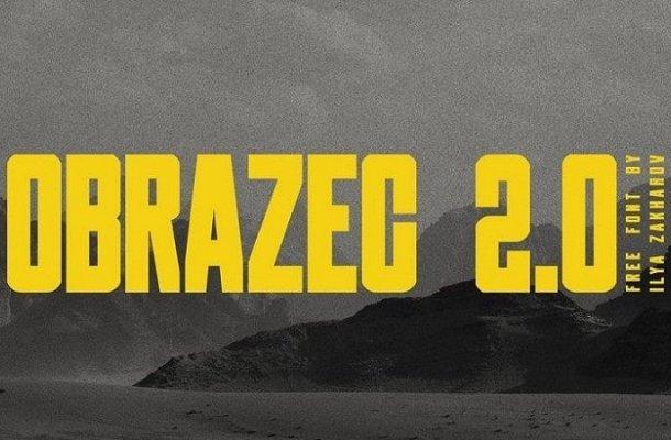 Obrazec 2.0 Display Font