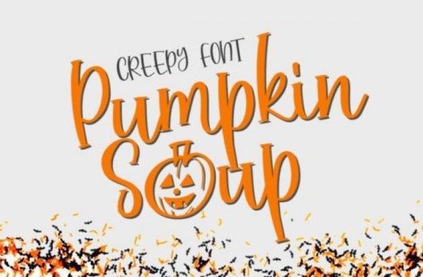 Pumpkin Soup Display Font