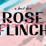 Rose Flinch Font Duo Free