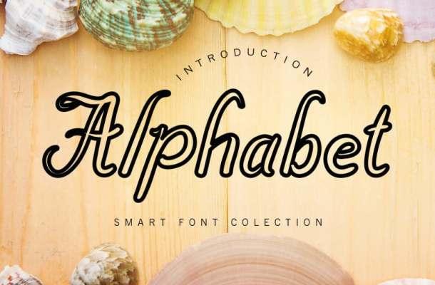 Alphabet Display Font