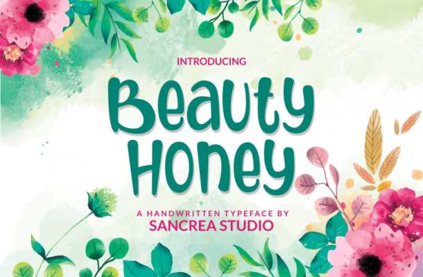 Beauty Honey Script Font