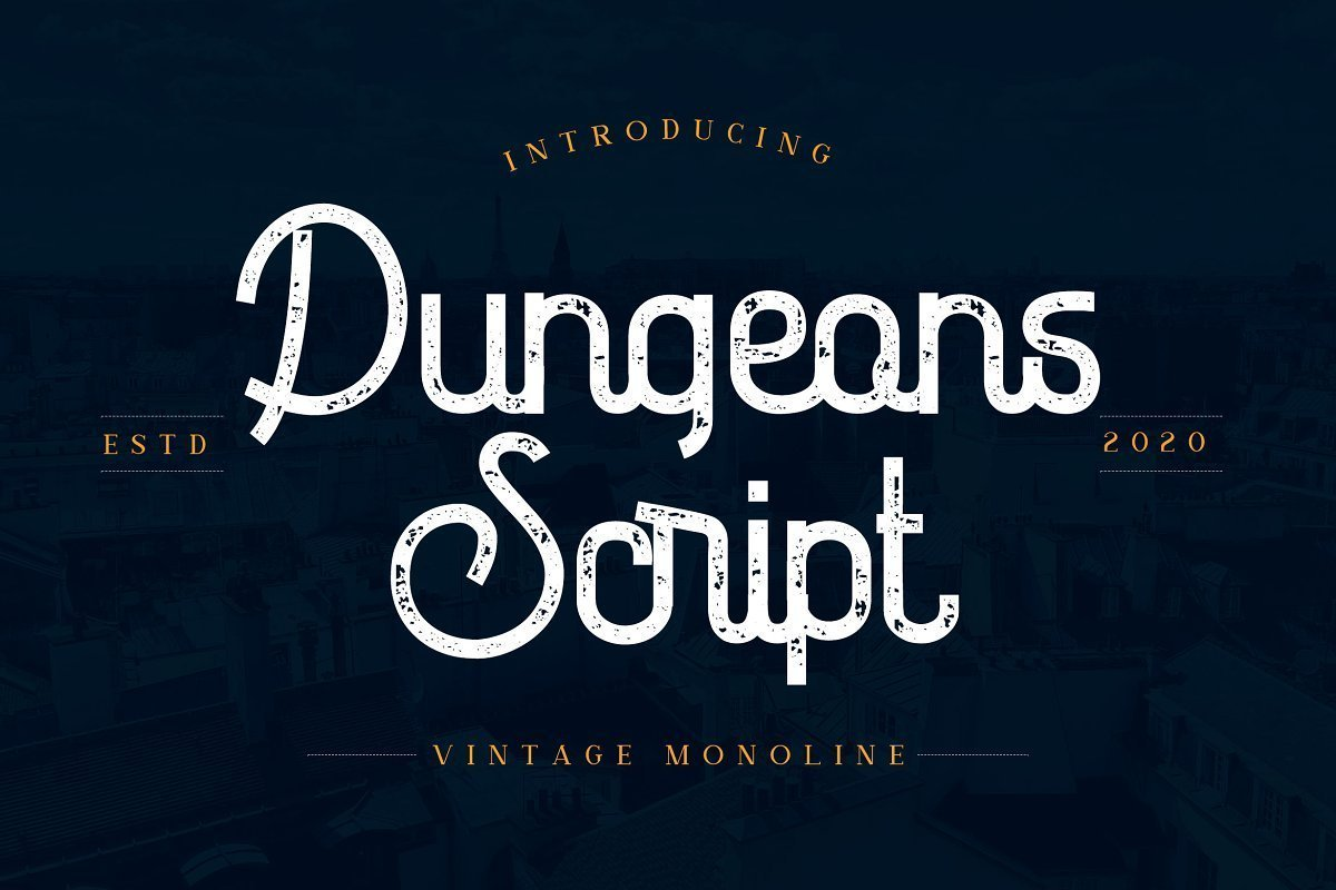 Dungeons-Font