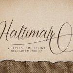 Hallimah Font Free