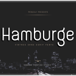 Hamburge Font