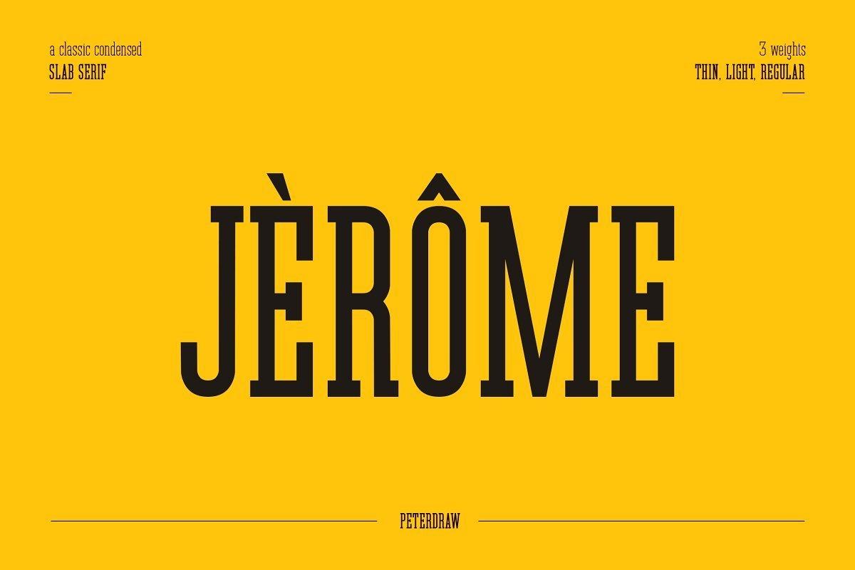 Jerome-Typeface