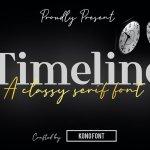 Timeline Font