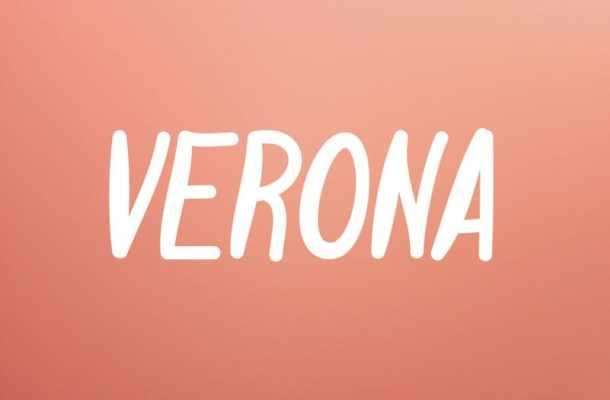 Verona Display Font