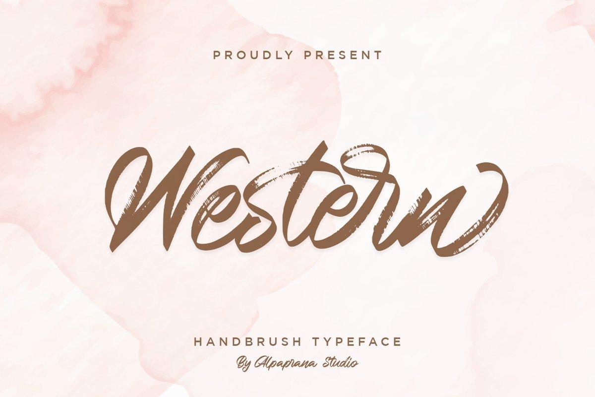Western-Typeface