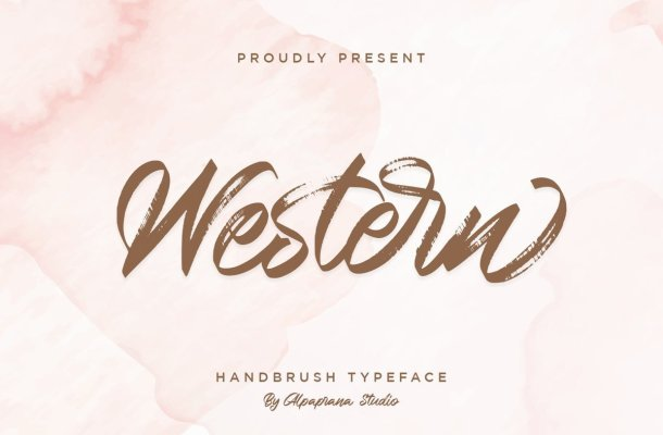 Western Typeface