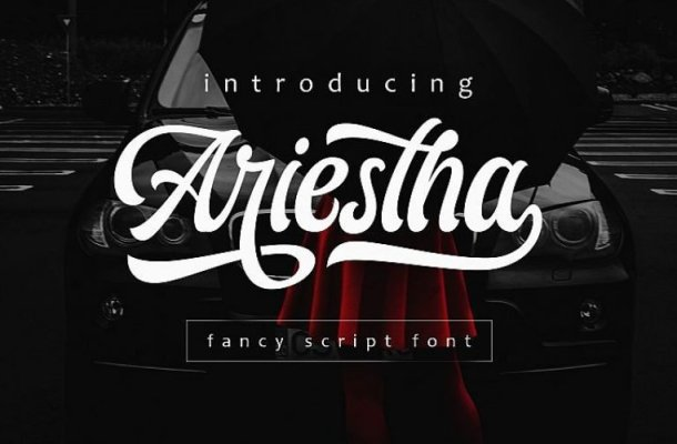 Ariestha Script Font