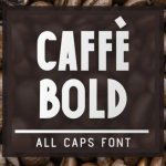 Caffe Bold Display Font