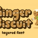 Ginger Biscuit Display Font
