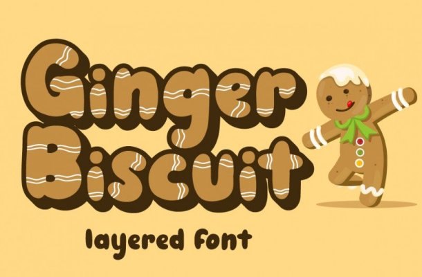 Ginger Biscuit Display Font