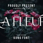 La Fleur Serif Font