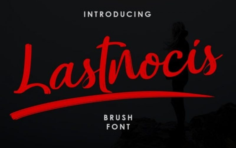 lastnocis-brush-font-4