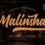 Malinsha Script Font